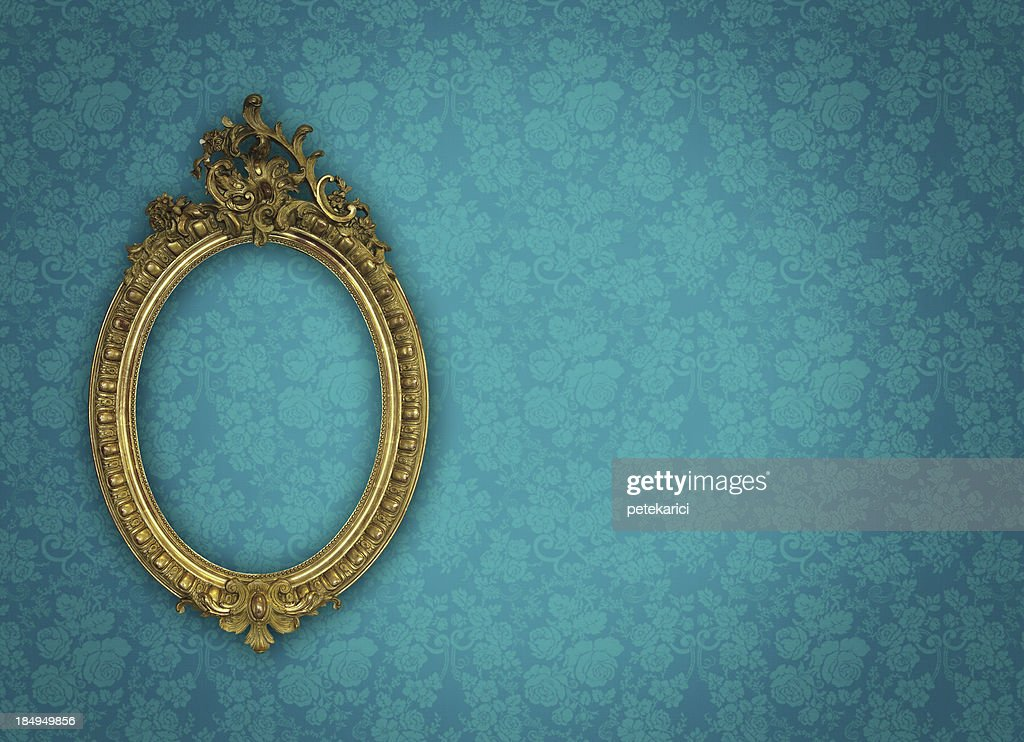 Ornate Picture Frame : Stock Photo