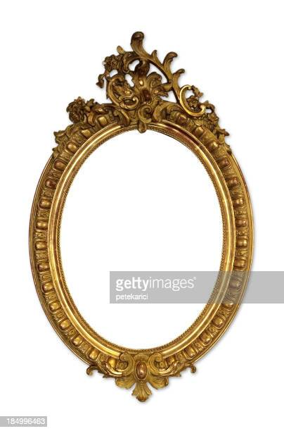 Ornate Picture Frame (Isolated)