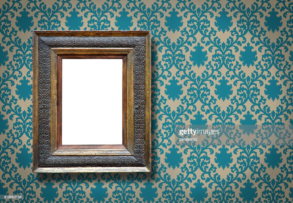 Ornate Picture Frame (All clipping paths included) : Stock Photo