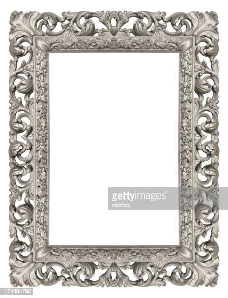 Ornate Silver Antique Picture Frame