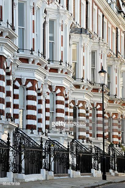 Ornate town houses