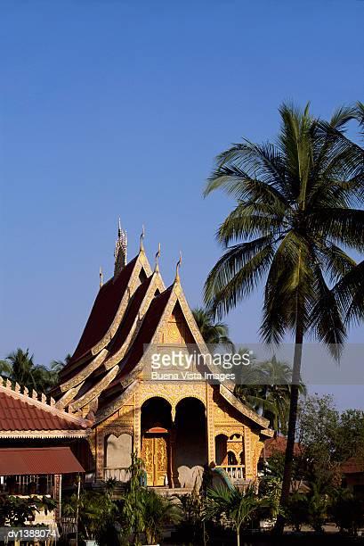 Ornate Wat, Vientiane, Laos, Indochina, Asia