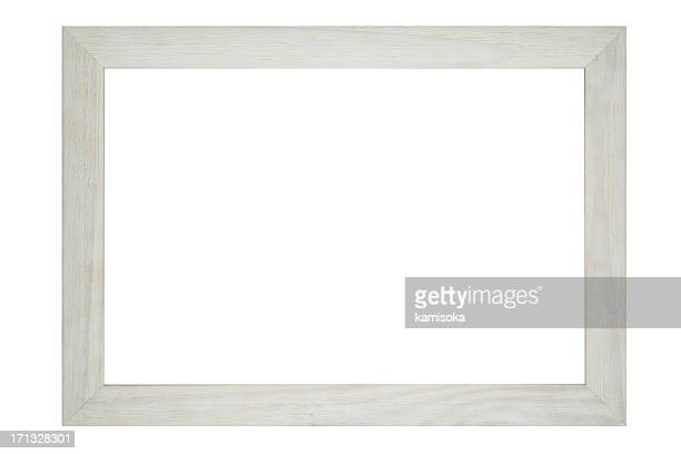 Ornate White Frame