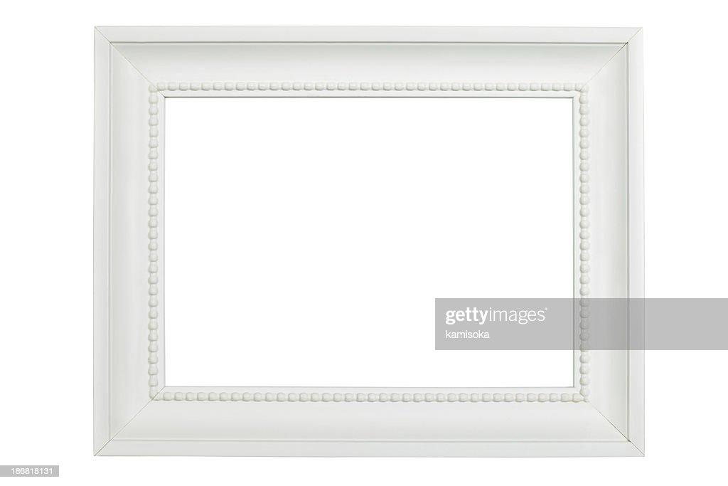ornate white frame - White Picture Frame