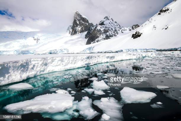 orne harbour - antarctica stock pictures, royalty-free photos & images