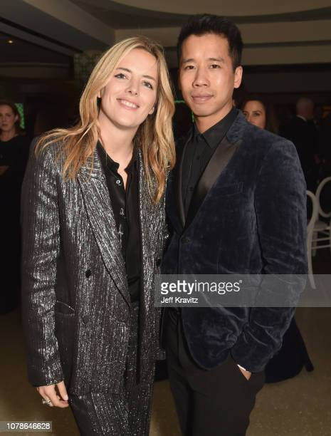 Ornela March and Jared Eng attend HBO's Official 2019 Golden Globe Awards After Party on January 6 2019 in Los Angeles California