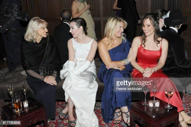 Ornella Barra Lori Brightman Jackie Stafford and Sandra Gabriele attend VIP MASKED BALL for Susan G Komen Headlined by Sir Richard Branson Katie...