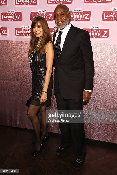 Ornella Muti and Danny Glover attend the Lambertz Monday Night 2015 at Alter Wartesaal on February 2 2015 in Cologne Germany