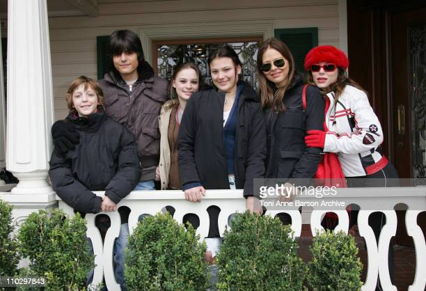 Ornella Muti and Familly during Disneyland Paris 15th Anniversary Celebration at Disneyland Paris in MarneLaVallee / Paris France