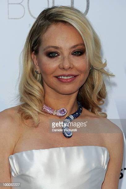 Ornella Muti arrives at amfAR's Cinema Against AIDS 2010 benefit gala at the Hotel du Cap on May 20 2010 in Antibes France