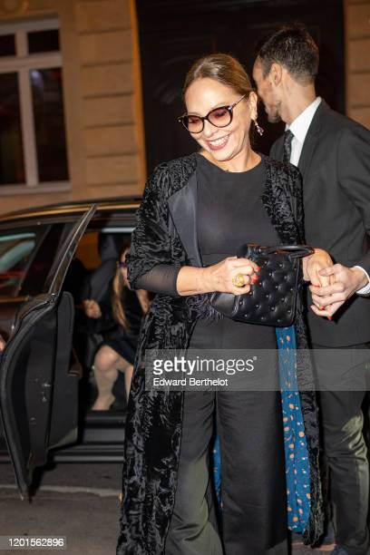 Ornella Muti arrives at Sidaction Gala Dinner 2020 At Pavillon Cambon on January 23 2020 in Paris France