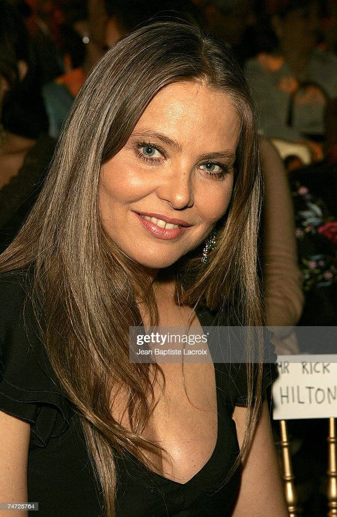 Ornella Muti at the Paris Haute Couture Fashion Week - Fall/Winter 2005 - Elie Saab - Front Row at in Paris.