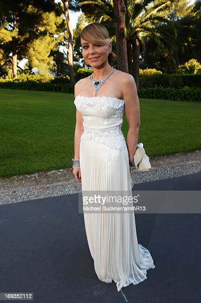 Ornella Muti attends amfAR's 20th Annual Cinema Against AIDS during The 66th Annual Cannes Film Festival at Hotel du Cap-Eden-Roc on May 23, 2013 in...