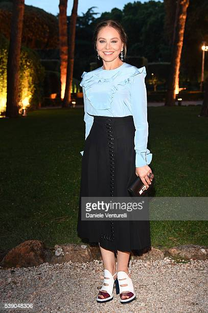 Ornella Muti attends McKim Medal Gala In Rome on June 9 2016 in Rome Italy