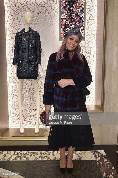 Ornella Muti attends Palazzo FENDI And ZUMA Inauguration on March 10 2016 in Rome Italy