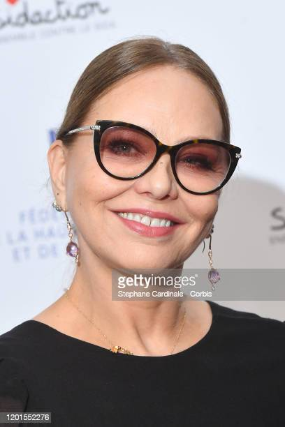 Ornella Muti attends Sidaction Gala Dinner 2020 At Pavillon Cambon on January 23 2020 in Paris France