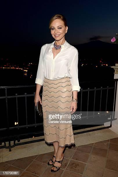 Ornella Muti attends 'Taormina FilmFest Humanitarian Award' on June 16 2013 in Taormina Italy