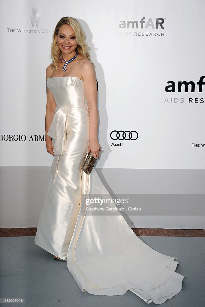 Ornella Muti attends the '2010 amfAR's Cinema Against AIDS' Gala - Arrivals