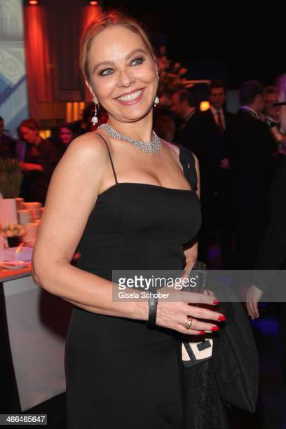 Ornella Muti attends the after show party of Goldene Kamera 2014 Hangar 7 at Tempelhof Airport on February 1 2014 in Berlin Germany