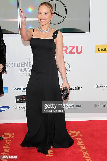 Ornella Muti attends the Goldene Kamera 2014 at Tempelhof Airport Hangar 7 on February 1 2014 in Berlin Germany