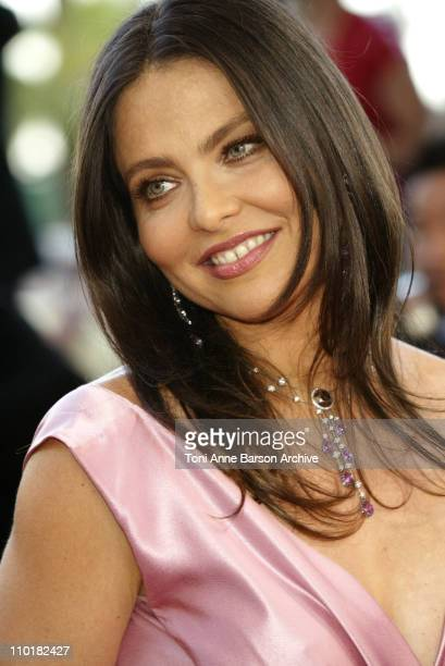 Ornella Muti during 2003 Cannes Film Festival Tulse Luper Suitcases Premiere at Palais des Festivals in Cannes France