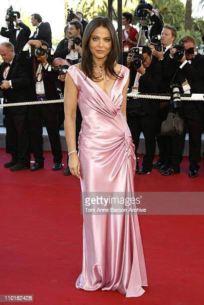 Ornella Muti during 2003 Cannes Film Festival 'Tulse Luper Suitcases' Premiere at Palais des Festivals in Cannes France