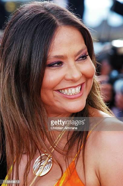 Ornella Muti during 2004 Cannes Film Festival Comme Une Image Premiere at Palis Du Festival in Cannes France France