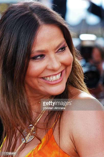 Ornella Muti during 2004 Cannes Film Festival Comme Une Image Premiere at Palis Du Festival in Cannes France France