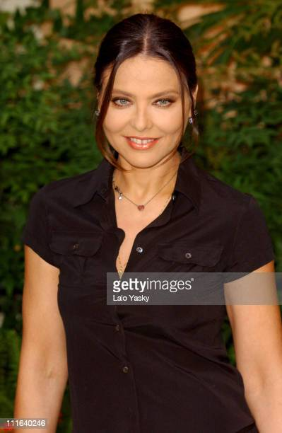 Ornella Muti during Italian Actress Ornella Muti at Photocall to Promote the First Day of Filming Di que Si at InterContinental Hotel in Madrid Spain