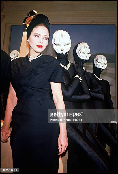 Ornella Mutti at a party organized by Cartier in Paris