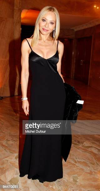 Ornella Mutti attends 'The Best ' Awards 2009 at Salon Hoche on December 14 2009 in Paris France