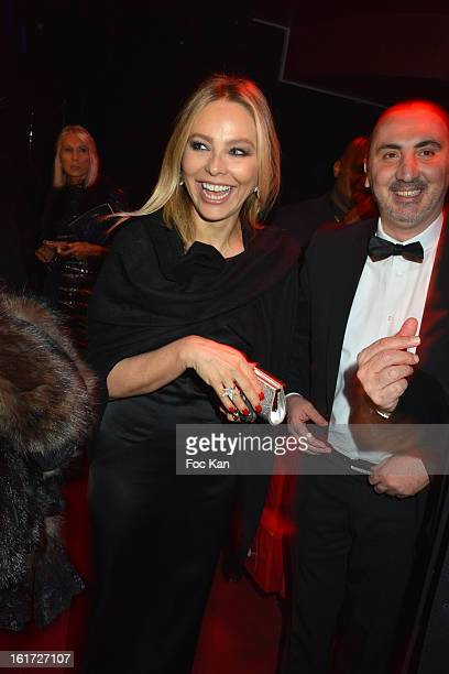 Ornella Mutti attends the Trophee De Paris Awards 2013 Ceremony At The Espace Pierre Cardin on February 14 2013 in Paris France