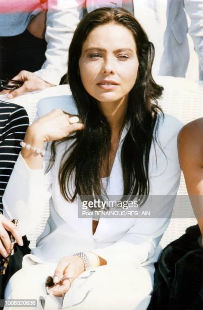 Ornella Mutti membre du jury du 22ème Festival du film américain de Deauville 2 septembre 1996 Deauville France