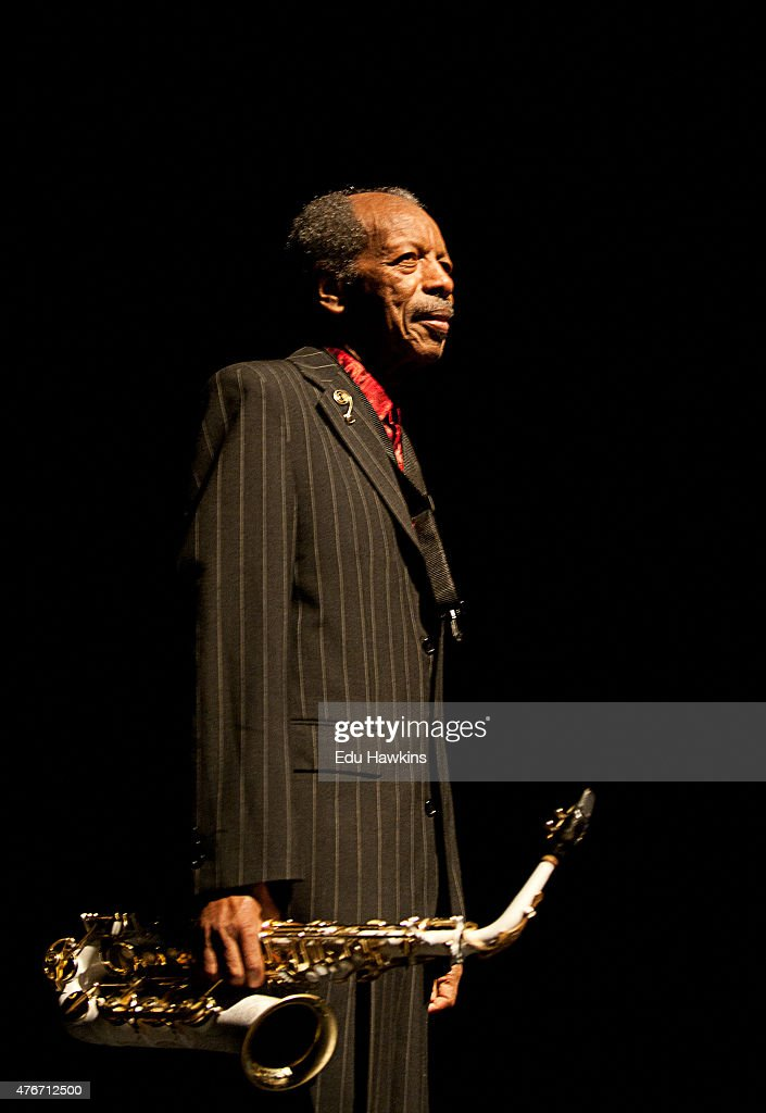 Ornette Coleman Performs At London Jazz Festival : News Photo