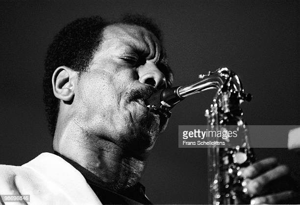 Ornette Coleman plays Alto Sax at the North Sea Jazz Festival in The Hague Netherlands on July 09 1983