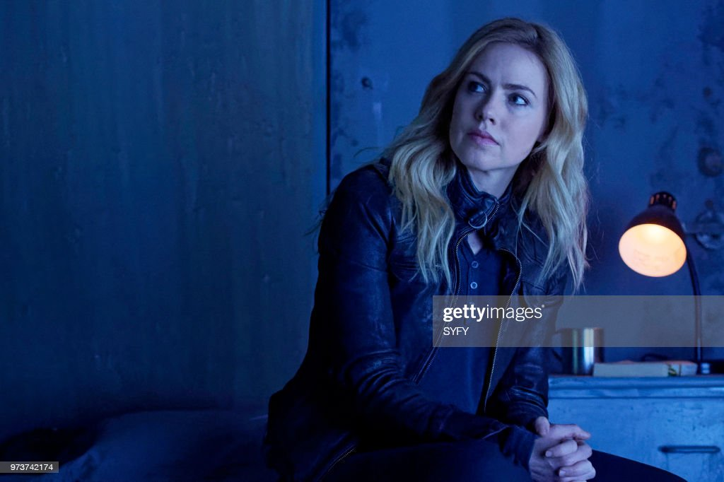 12 MONKEYS -- 'Oroboros' Episode 402 -- Pictured: Amanda Schull as Cassandra Railly --