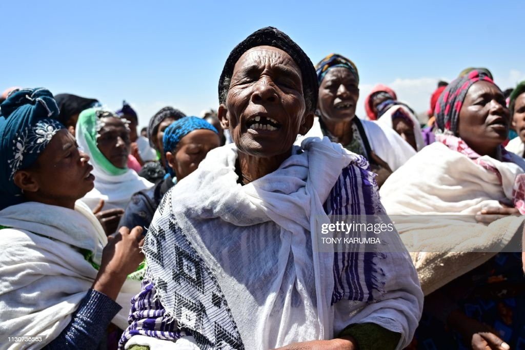 ETHIOPIA-PLANE-CRASH : News Photo