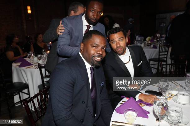 Oronde Garrett Moving Mountains Founder Jamie Hector and honoree Jesse Williams attend the 2019 Moving Mountains Gala on June 4 2019 in New York City