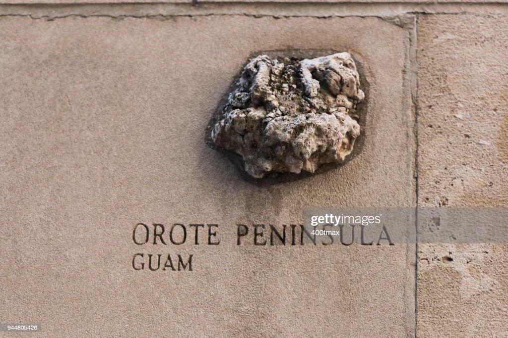 Orote Peninsula : Stock Photo