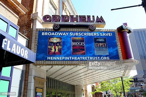 Orpheum Theatre on May 22, 2015 in Minneapolis, Minnesota.