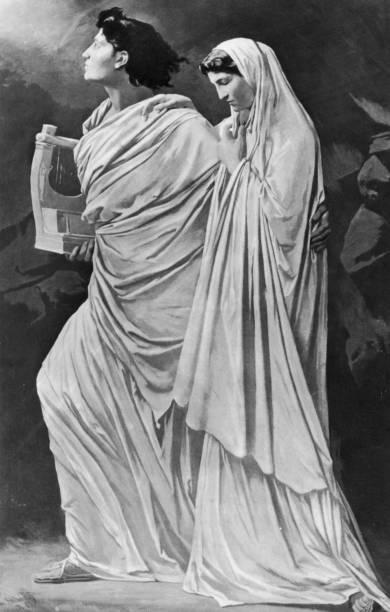Orpheus And Eurydice Wall Art