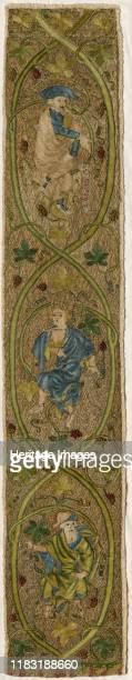 The Tree of Jesse circa 1350 From the 12th to the 14th centuries in London both men and women worked as professional embroiderers Here the Tree of...