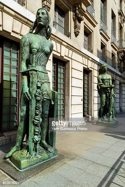 Orsay Museum,La Victoire And Force de la Volonte by Antoine Bourdelle,Rue De Lille,  Paris, France