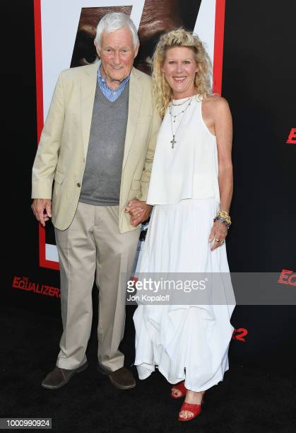 Orson Bean and Alley Mills attend premiere of Columbia Picture's Equalizer 2 at TCL Chinese Theatre on July 17 2018 in Hollywood California