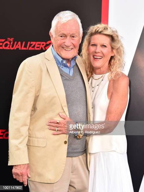 Orson Bean and Alley Mills attend the premiere of Columbia Pictures' Equalizer 2 at the TCL Chinese Theatre on July 17 2018 in Hollywood California