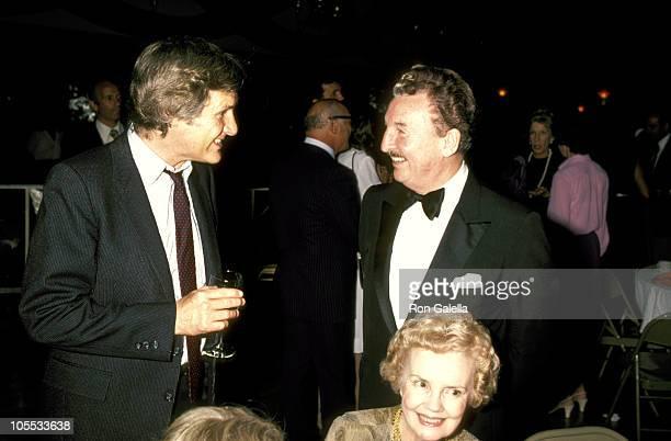 Orson Bean and Eddie Bracken during Gala Honoring George Abbott at Roseland in New York City New York United States