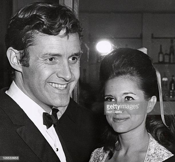 Orson Bean and guest during Opening Party for the Paradise Greek Center in New York City April 11 1967 at Paradise Greek Center in New York City New...