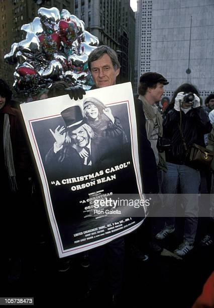 Orson Bean during Macy's Thanksgiving Day Parade November 25 1982 at Columbus Circle in New York City New York United States