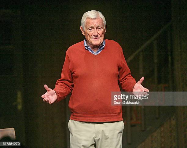 Orson Bean performs his one man play Safe At Home an evening with Orson Bean at Pacific Resident Theatre on March 26 2016 in Venice California