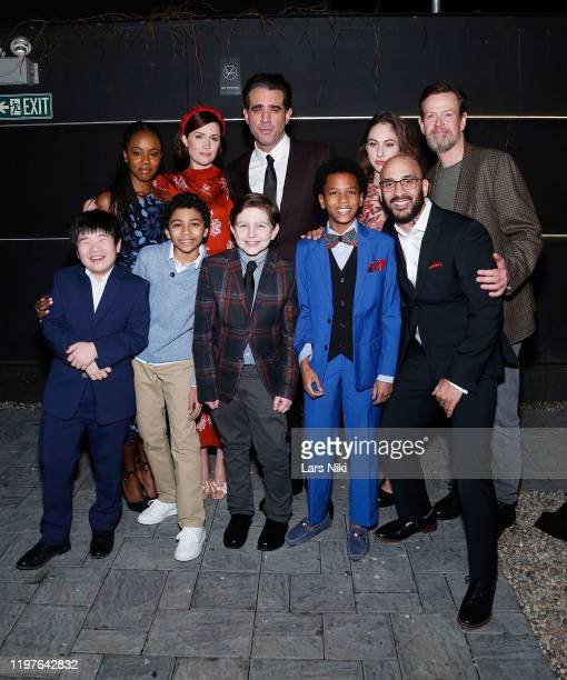 Orson Hong, Emeka Guindo, Gabriel Amoroso, Jolly Swag and Victor Almazar and Jordan Boatman, Rose Byrne, Bobby Cannavale, Madeline Weinstein and...